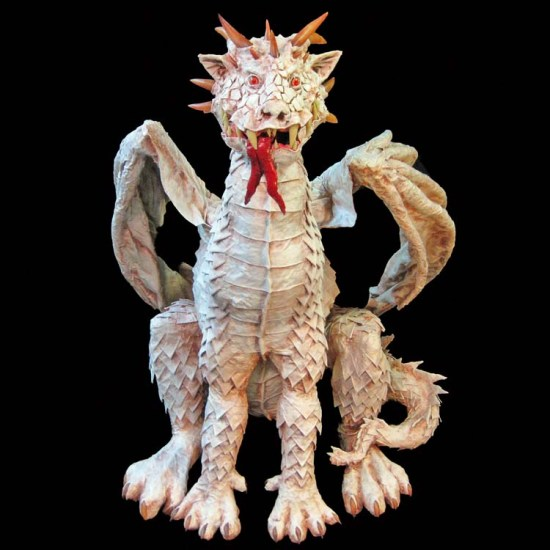 Albino Dragon -front