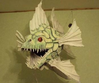 Alex paper mache fish