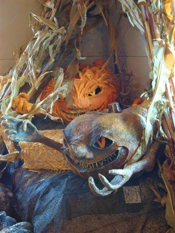 uellas paper mache pumpkin2