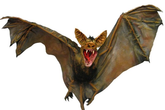 Paper Mache Bat