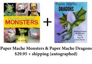 Paper Mache double book order