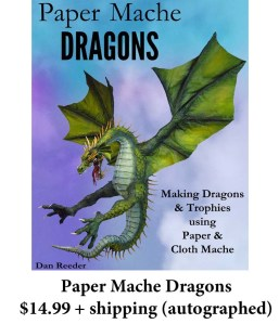Paper Mache Dragons book