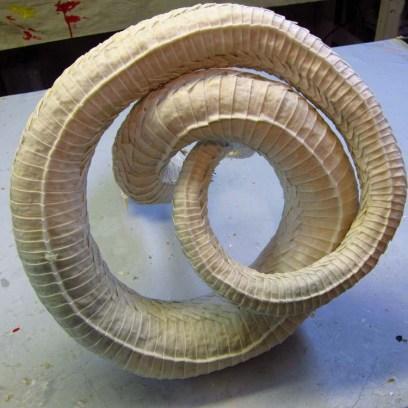 Paper mache Naga- bottom plates