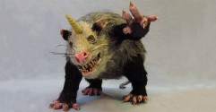 Paper Mache Unipossum- featured image