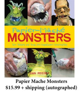 Papier Mache Monsters book
