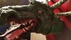 lee's paper mache dragon trophy- thumb