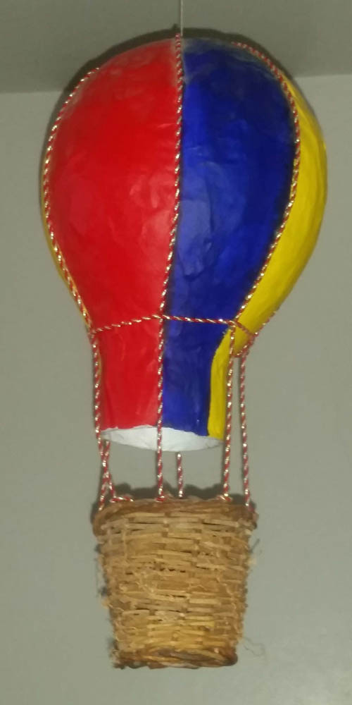 sue alexander's paper mache balloon.