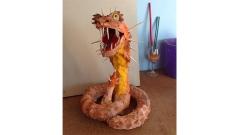 Annie's paper mache snake
