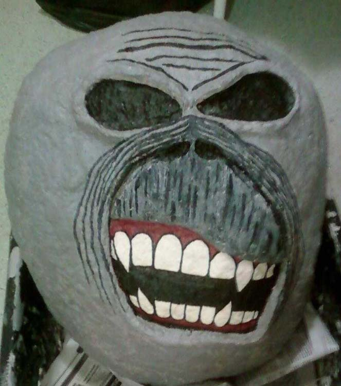 Dara's paper mache IMEddieHeadProp