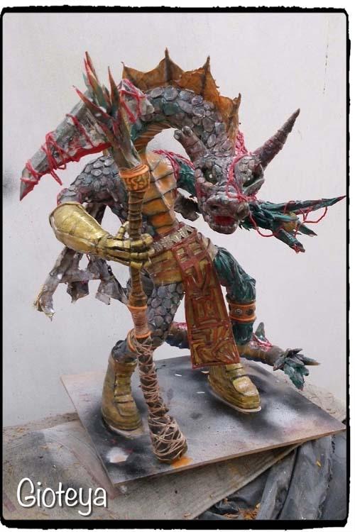 """Giovanni's """"Fantasy Paper Mache Design"""""""