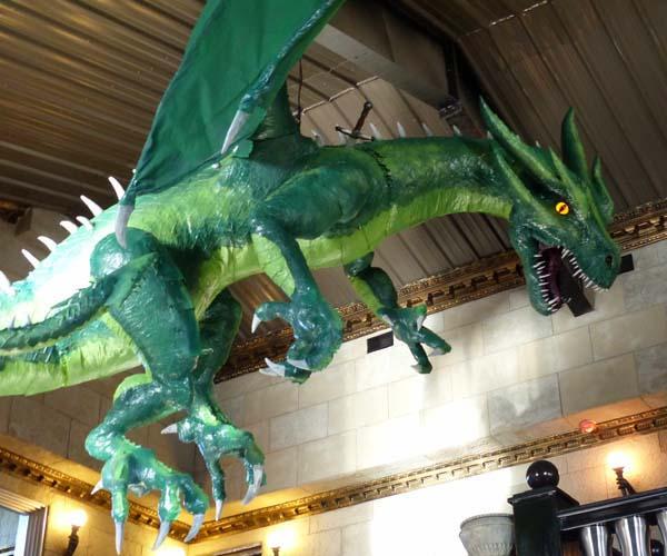 justins paper mache dragon2