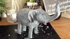 laura moleman's paper mache elephant-portfolio
