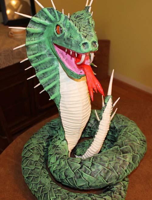 marco paper mache snake