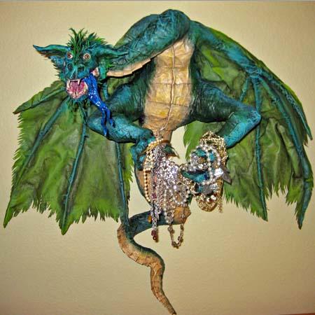 paper mache familiy jewels