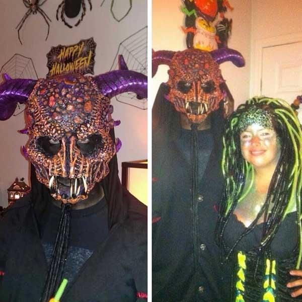 sharies paper mache masks