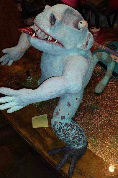cat's paper mache monsters2