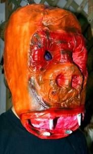 David's paper mache gorilla
