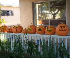 Ljgato paper mache pumpkins