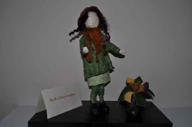 Diann Mcdonald's paper mache girl