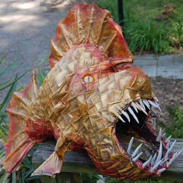 eric's paper mache fish 2