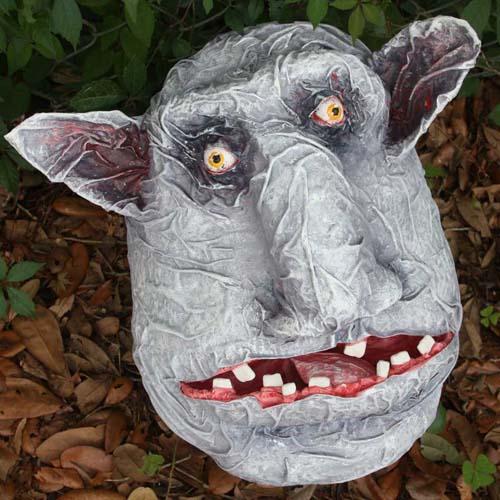 Jeanne Greenleaf Lebow's paper mache Goblin NeneFest