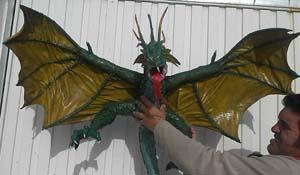 juan beltran's paper mache dragon 2