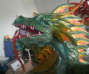 juan beltran's paper mache dragon 3