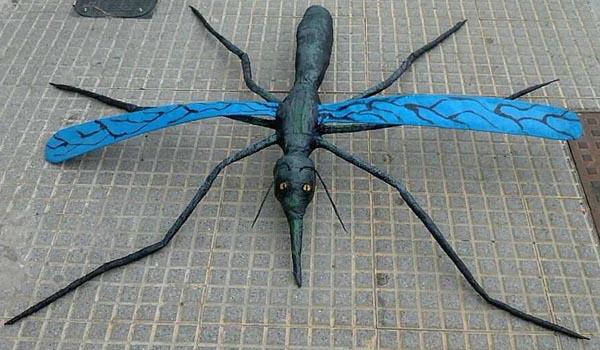 juans beltrans paper mache bug