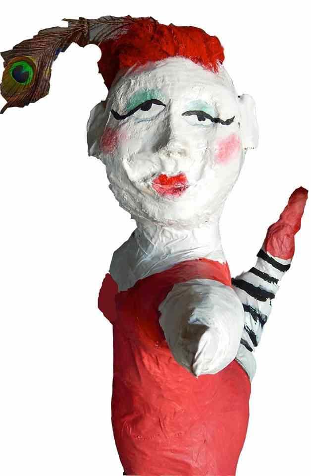 lynne bolton's paper mache art