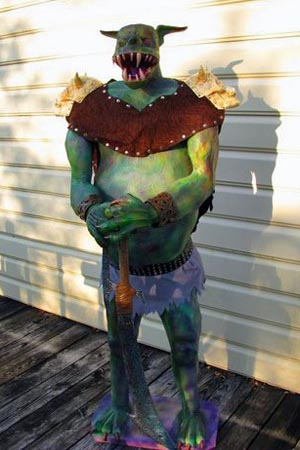marc and griffin paper mache monster2