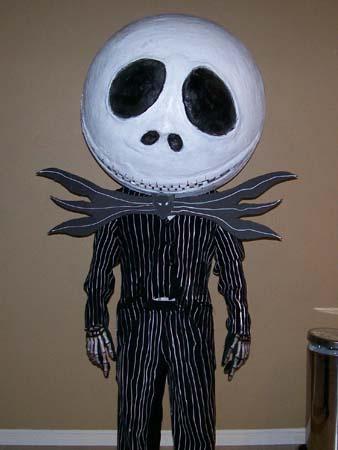 marios paper mache nightmare head