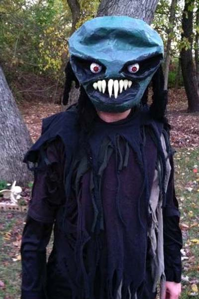 Todd's paper mache mask