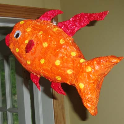 richards paper mache fish