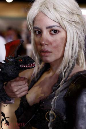 fernandos girlfriend with paper mache dragon2