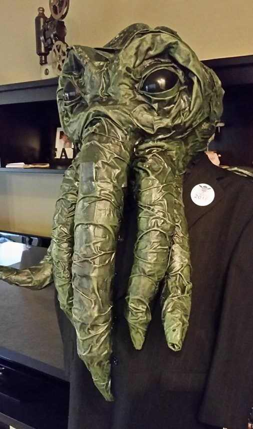 Dave Meyer's paper mache Cthulu costume