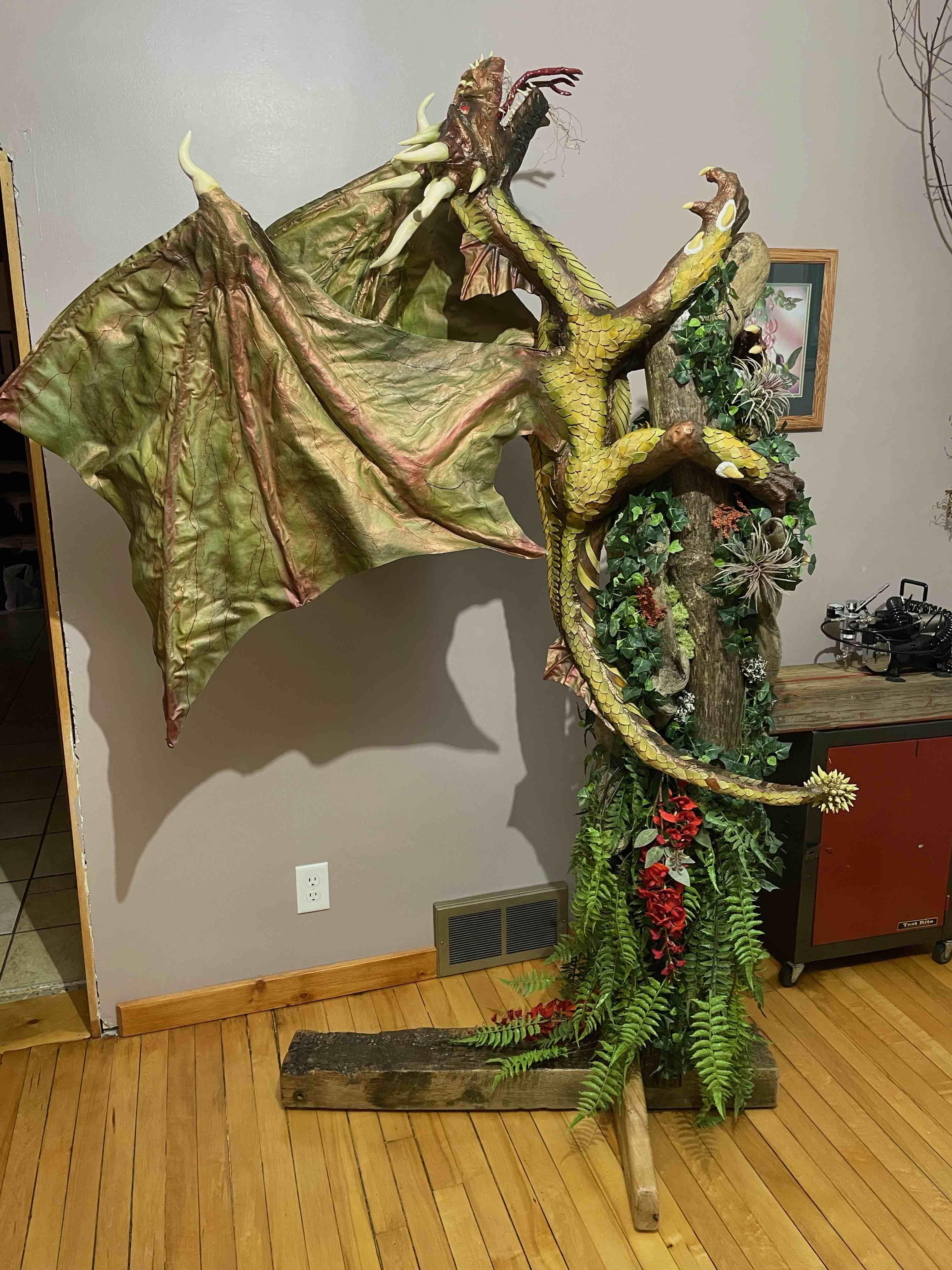 Janet Post's new dragon 2