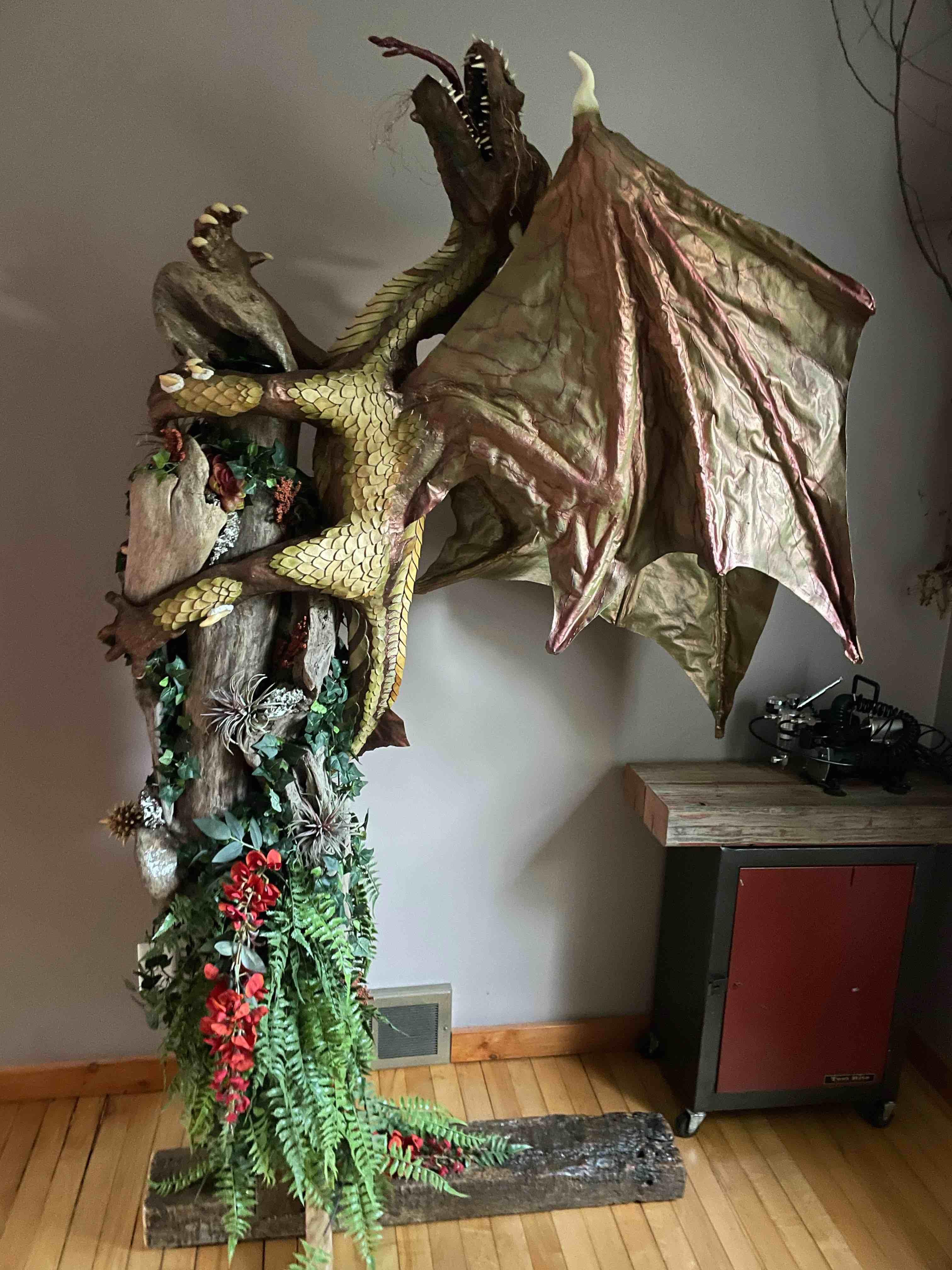 Janet Post's new dragon