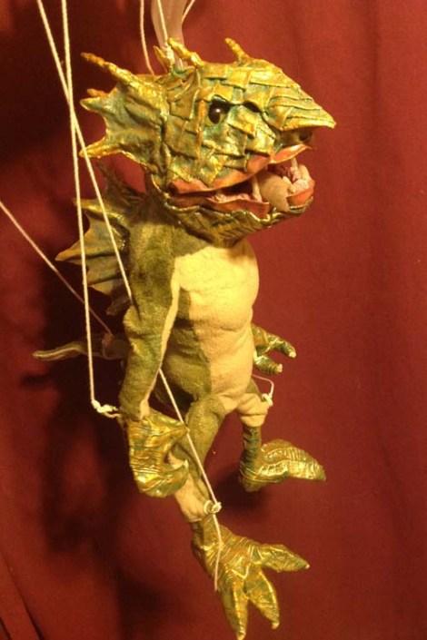 Cindy Newbry's puppet