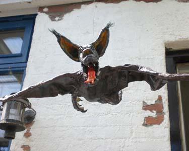 arts paper mache bat