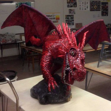 Ellice Taylor's student's dragon