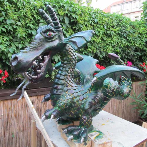 Uwe Morgenstern's dragon