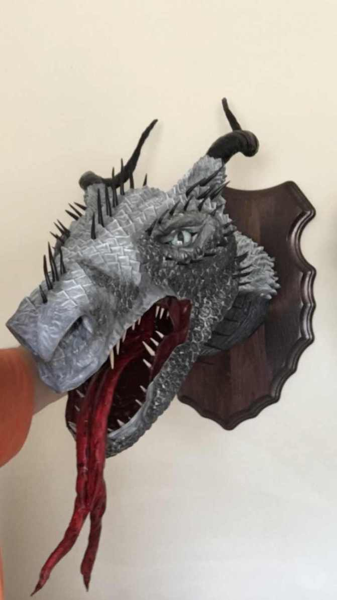 Bradley Pierce's new dragon