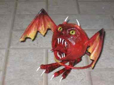 Ed's little devil front view
