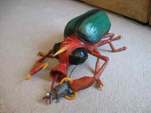 Ed's paper mache bug