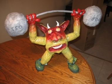 Ed's weight lifter