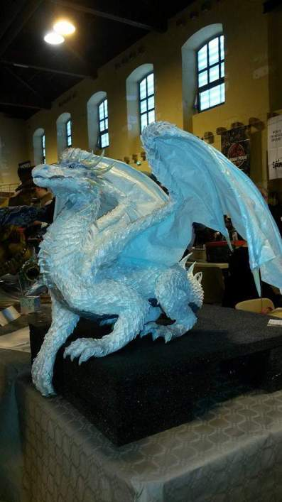 Tetiana Monnier's White Dragon