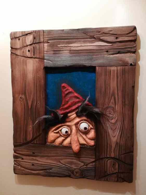 Uwe morganstern's face in frame