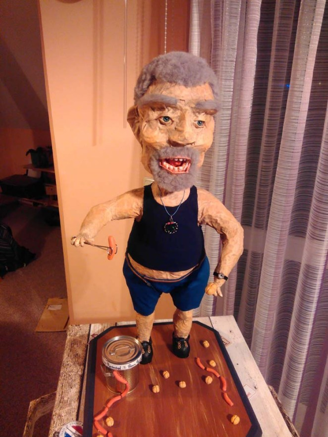 Uwe Morgenstern's likeness of Peter