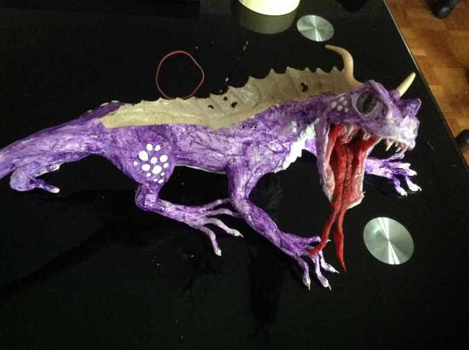veronika-czebes-paper-mache-dragon