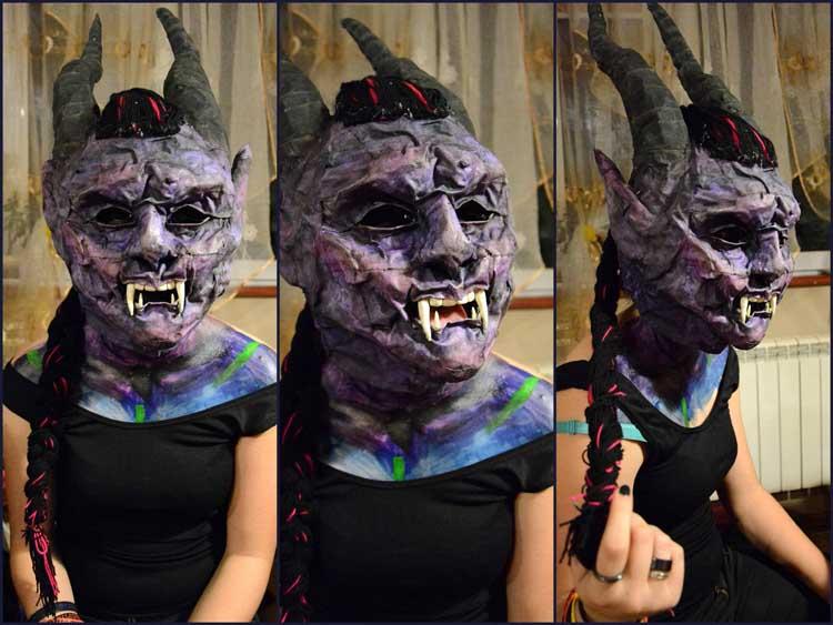 Kamila's mask
